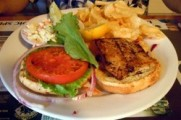 Blackened Mahi- Mahi Sandwich